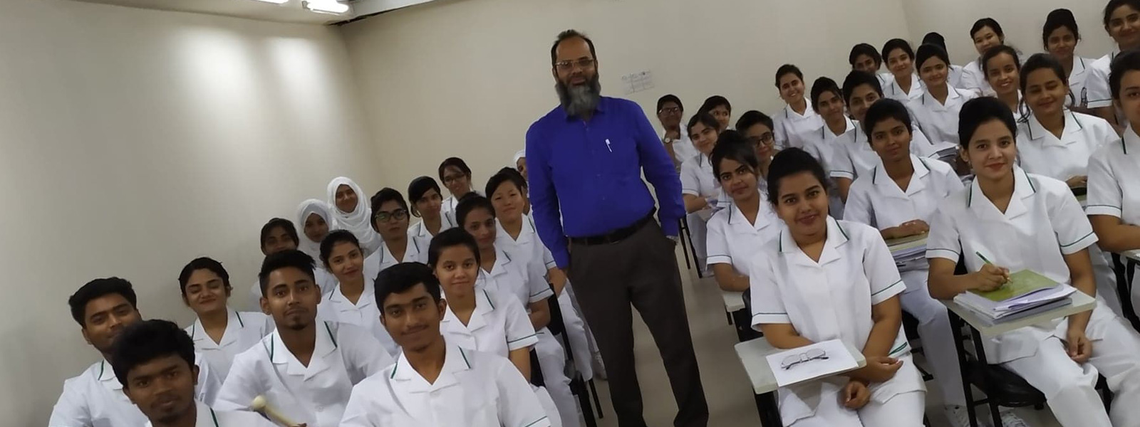 At Nursing School